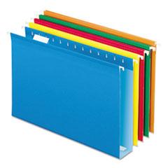 PFX4153X2ASST - Pendaflex® Extra Capacity Reinforced Hanging File Folders with Box Bottom