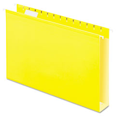 PFX4153X2YEL - Pendaflex® Extra Capacity Reinforced Hanging File Folders with Box Bottom