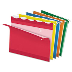 PFX42592 - Pendaflex® Ready-Tab® Colored Reinforced Hanging File Folders