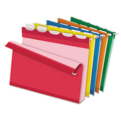 PFX42700 - Pendaflex® Ready-Tab® Extra Capacity Reinforced Colored Hanging File Folders with Box Bottom