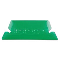 PFX42GRE - Pendaflex® Transparent Colored Tabs For Hanging File Folders