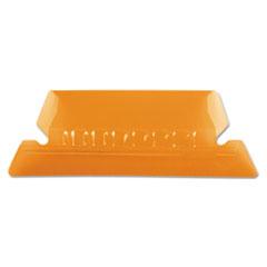 PFX42ORA - Pendaflex® Transparent Colored Tabs For Hanging File Folders