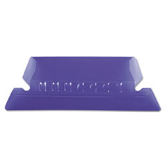 PFX42VIO - Pendaflex® Transparent Colored Tabs For Hanging File Folders