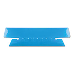PFX4312BLU - Pendaflex® Transparent Colored Tabs For Hanging File Folders