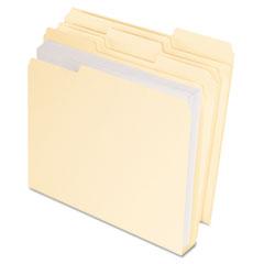PFX48436 - Pendaflex Double Stuff® CutLess® WaterShed® File Folders