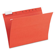 PFX52115MIXR - Ampad® Envirotec™ 100% Recycled Colored Hanging File Folders