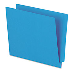 PFXH110DBL - Pendaflex® Colored End Tab Folders With Reinforced Double-Ply Straight Cut Tabs