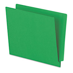PFXH110DGR - Pendaflex® Colored End Tab Folders With Reinforced Double-Ply Straight Cut Tabs
