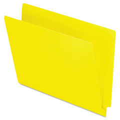 PFXH110DY - Pendaflex® Colored End Tab Folders With Reinforced Double-Ply Straight Cut Tabs