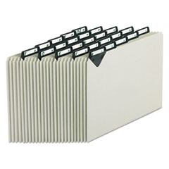 PFXMTN925 - Pendaflex® Steel Top Tab A-Z File Guides