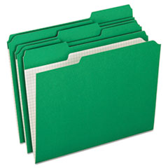 PFXR15213BGR - Pendaflex® Double-Ply Reinforced Top Tab Colored File Folders