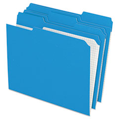 PFXR15213BLU - Pendaflex® Double-Ply Reinforced Top Tab Colored File Folders