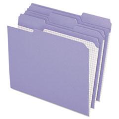 PFXR15213LAV - Pendaflex® Double-Ply Reinforced Top Tab Colored File Folders