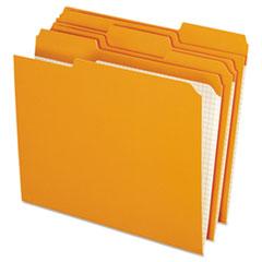 PFXR15213ORA - Pendaflex® Double-Ply Reinforced Top Tab Colored File Folders