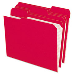 PFXR15213RED - Pendaflex® Double-Ply Reinforced Top Tab Colored File Folders