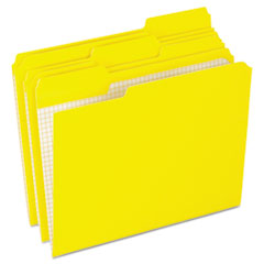 PFXR15213YEL - Pendaflex® Double-Ply Reinforced Top Tab Colored File Folders