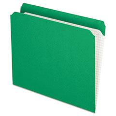 PFXR152BGR - Pendaflex® Double-Ply Reinforced Top Tab Colored File Folders