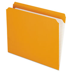 PFXR152ORA - Pendaflex® Double-Ply Reinforced Top Tab Colored File Folders