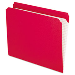 PFXR152RED - Pendaflex® Double-Ply Reinforced Top Tab Colored File Folders