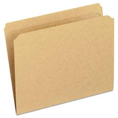 PFXRK152 - Pendaflex® Dark Kraft File Folders with Double-Ply Top