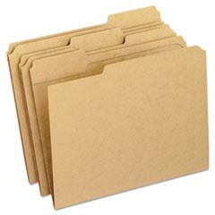 PFXRK15213 - Pendaflex® Dark Kraft File Folders with Double-Ply Top