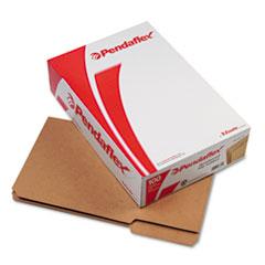 PFXRK15313 - Pendaflex® Dark Kraft File Folders with Double-Ply Top