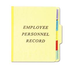 PFXSER1YEL - Pendaflex® Personnel Folders