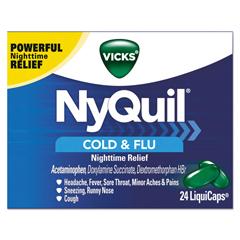 PGC01440 - Vicks® NyQuil™ Cold & Flu Nighttime LiquiCaps