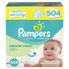 PGC28253CT - Pampers® Natural Clean Baby Wipes