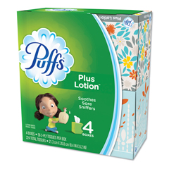 PGC34899CT - Puffs® Plus Lotion Facial Tissue