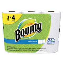 PGC94990PK - Bounty® Select-a-Size Perforated Roll Towels