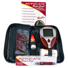 PHABMB001-SK - Pharma Supply - Advocate® Redi-Code Plus Speaking Blood Glucose Meter Kit