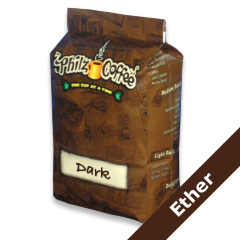 PHIB-ETH-1 - Philz CoffeeEther - Whole Bean, 1 lb. bag