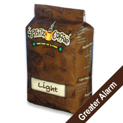 PHIB-ALA-1 - Philz CoffeeGreater Alarm Blend - Whole Bean, 1 lb. bag