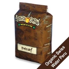 PHIG-DEF-1 - Philz CoffeeDecaf Organic - Ground, 1 lb. bag