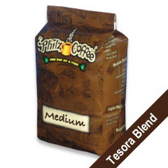 PHIB-TES-1 - Philz Coffee - Tesora Blend - Whole Bean, 1 lb. bag