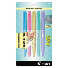 PIL46543 - Pilot® FriXion Light Pastel Collection Erasable Highlighters