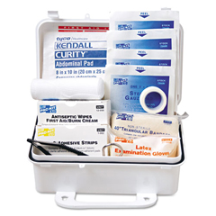 PKT6060 - ANSI #10 Weatherproof First Aid Kit, 57-Pieces, Plastic Case