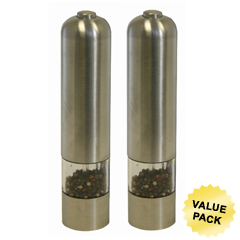 ITOPM001CCS - iTouchlessAutomatic Stainless Steel Pepper & Salt Grinder (Pair)