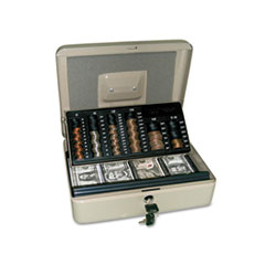 PMC04967 - PM Company® 3-in-1 Cash-Change-Storage Security Box