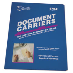 PMC099DC - PM Company® AccuFax® Document Carrier