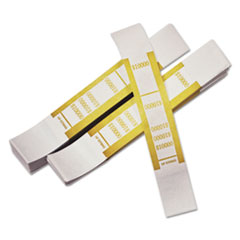PMC55010 - PM Company® Dark Yellow Currency Strap