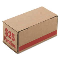 PMC61001 - PM Company® Corrugated Coin Storage and Shipping Boxes
