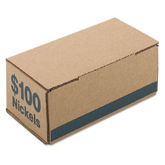 PMC61005 - PM Company® Corrugated Coin Storage and Shipping Boxes