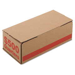 PMC61025 - PM Company® Corrugated Coin Storage and Shipping Boxes