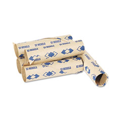 PMC65070 - PM Company® Preformed Paper Tubular Coin Wrappers