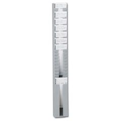 PMD400-3 - Pyramid25 Capacity Adjustable Time Card Rack
