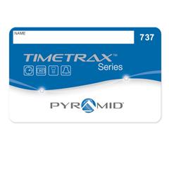 PMD41304 - PyramidTimeTrax EZ Swipe Card Proximity Badges #51-100