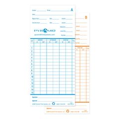 PMD42415-10MB - PyramidTime Cards for Model 2600/2650 Time Clocks