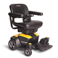 PRDGO_CHAIR_YELLOW - Pride Mobility - Go Chair, FDA Class II Medical Device